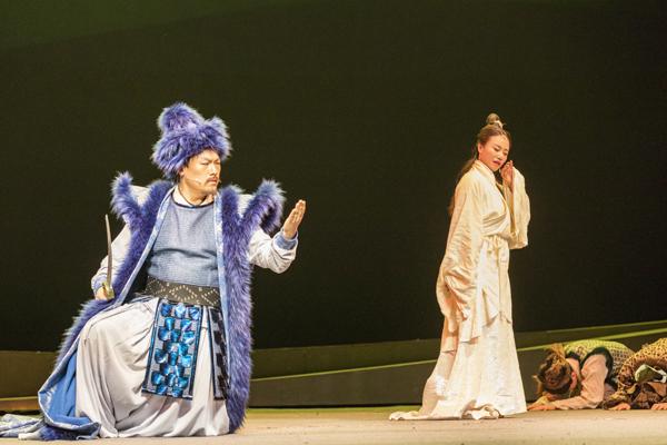 大型原创音乐剧《爱·文姬》南昌演出受追捧