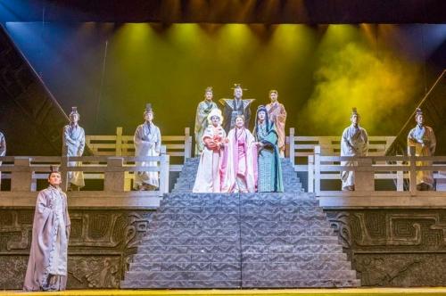 享受时尚艺术_传播爱的能量_大型原创音乐剧《爱·文姬》江西巡演圆满收官